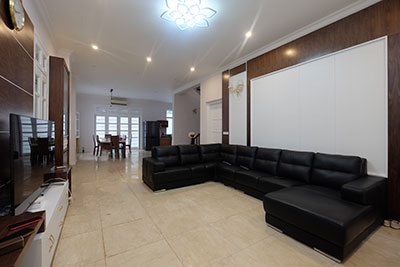 Modern 05Brs house in the quiet T block Ciputra, semi furnished