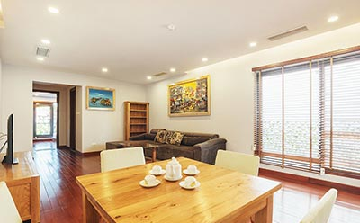 Modern 1 bedroom apartment to rent in Old Quarter, short walk to Hoan Kiem lake
