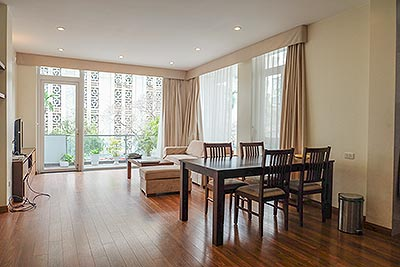 Modern 2-bedroom apartment with balcony in Hoan Kiem