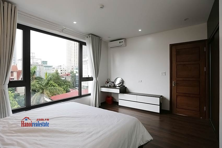Modern 3-bedroom apartment to rent in Tay Ho with balcony & fully furnished 12