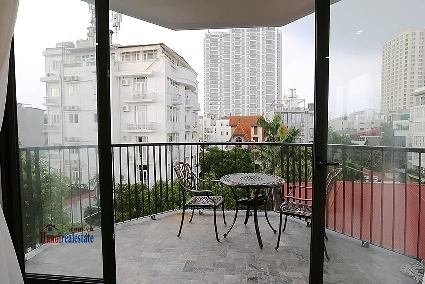 Modern 3-bedroom apartment to rent in Tay Ho with balcony & fully furnished 6