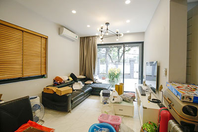 Modern 3-bedroom house with large yard to rent on To Ngoc Van