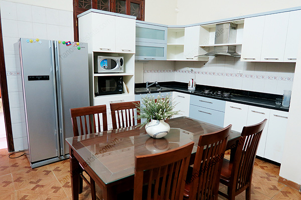 Modern, 4 bedrooms house for rent at Buoi street, Ba Dinh district, Hanoi 10