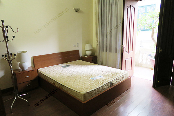Modern, 4 bedrooms house for rent at Buoi street, Ba Dinh district, Hanoi 14