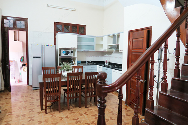 Modern, 4 bedrooms house for rent at Buoi street, Ba Dinh district, Hanoi 7