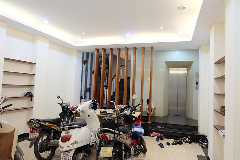 Modern 6-storey house with elevator in Van Phuc, Ba Dinh 1