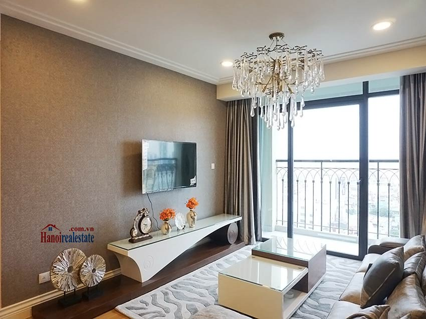 Modern apartment to let in Hoang Thanh Tower, Hai Ba Trung, Hanoi 1