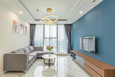 Modern design 03 bedroom apartment in Sunshine City for rent