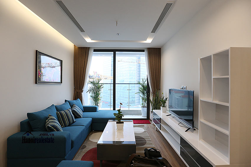 Modern design apartment with 02 beds in Vinhomes Metropolis, Lieu Giai street 2