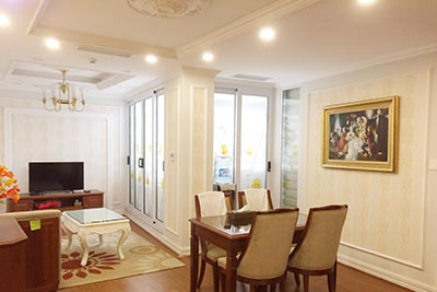 Modern furnished 02 bedroom apartment for rent in Hai Ba Trung, Hanoi.