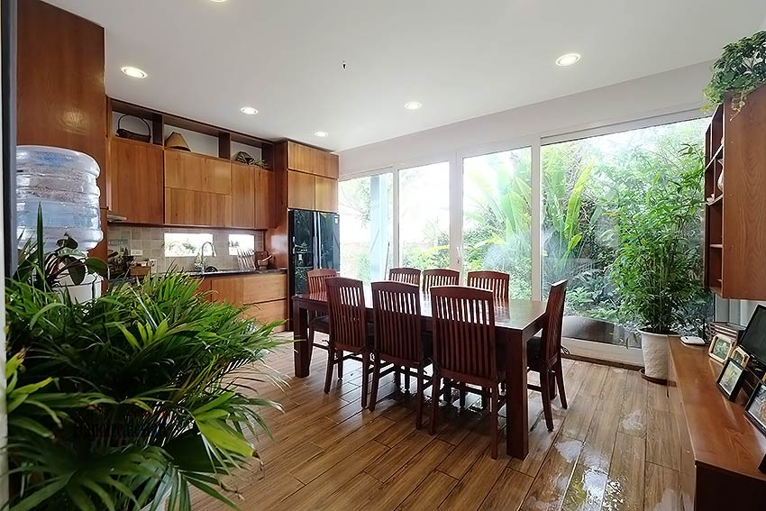 Modern furnished 2-bedroom house to lease in Hoan Kiem, close to French Embassy 5