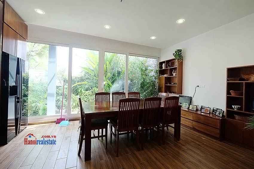 Modern furnished 2-bedroom house to lease in Hoan Kiem, close to French Embassy 6