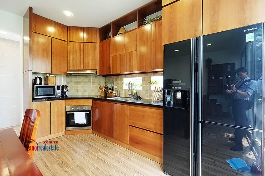 Modern furnished 2-bedroom house to lease in Hoan Kiem, close to French Embassy 7