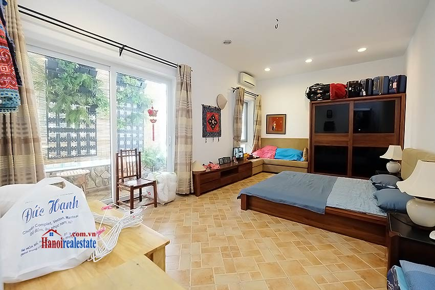 Modern furnished 2-bedroom house to lease in Hoan Kiem, close to French Embassy 8
