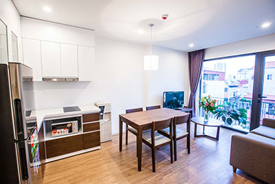 Modern Japanese styler 02 bedroom apartment in Phan Ke Binh for rent