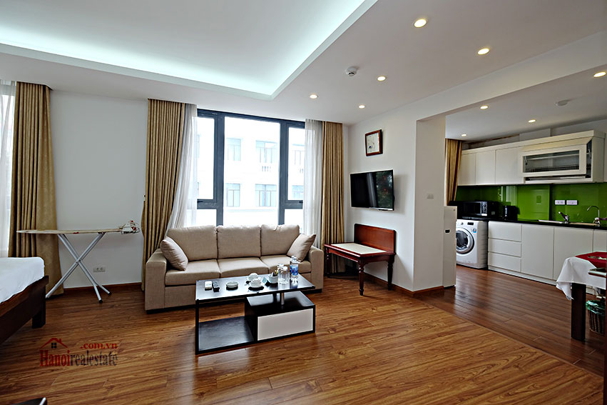 Modern Studio apartment to rent on Tran Nhan Tong, Hanoi 3
