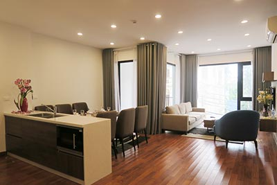 Modern style 02BRs apartment for rent in the heart of Tay Ho, brand new