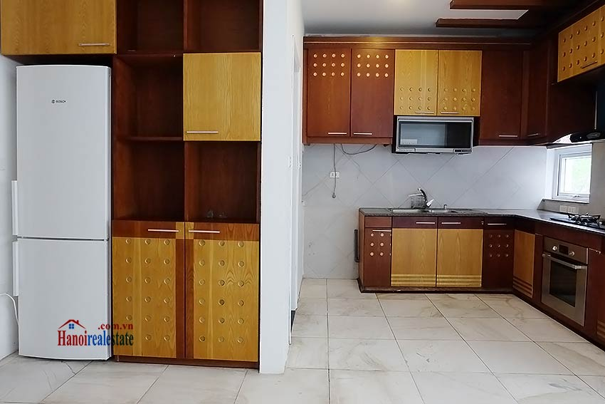 Modern unfurnished 03 bedroom house to let in Tay Ho, Hanoi, Vietnam 7