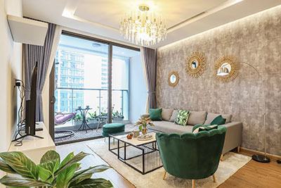 New, Modern 03 bedroom apartment in M3 Metropolis building