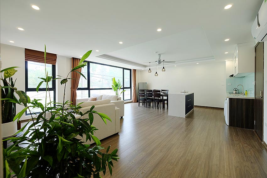 New Spacious 2 Bedroom Apartment in Dang Thai Mai str, Tay Ho Hanoi 1