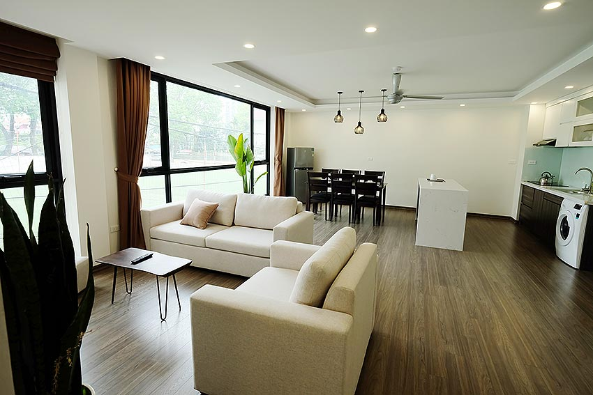 New Spacious 2 Bedroom Apartment in Dang Thai Mai str, Tay Ho Hanoi 2