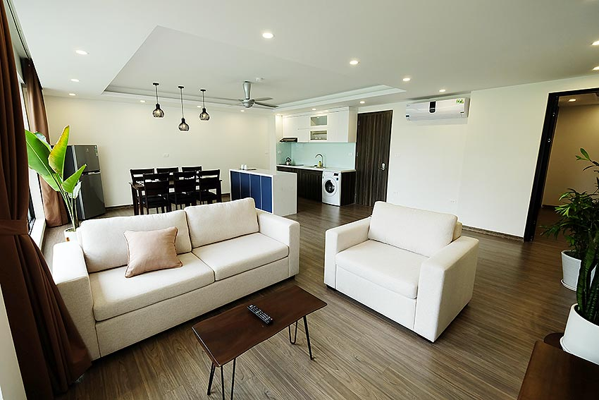 New Spacious 2 Bedroom Apartment in Dang Thai Mai str, Tay Ho Hanoi 3