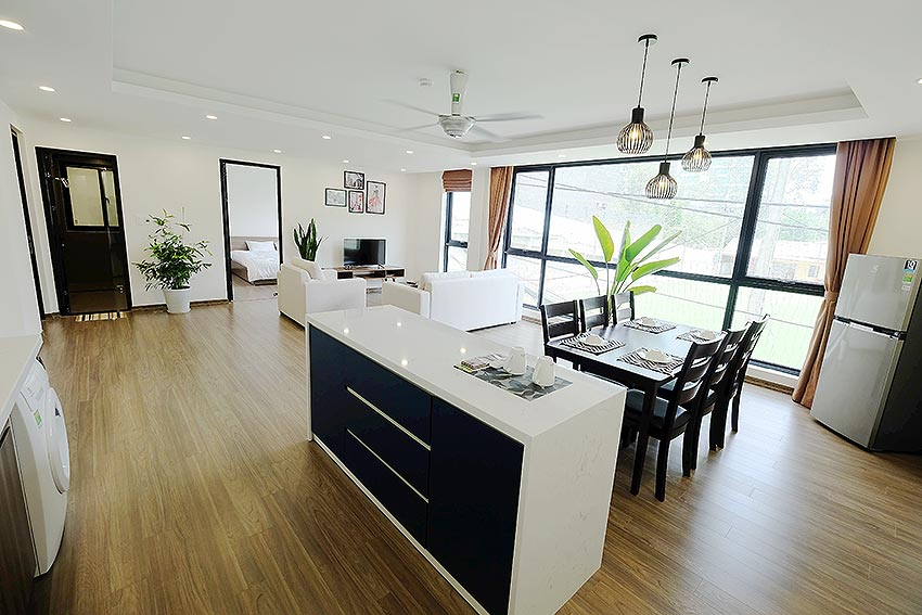 New Spacious 2 Bedroom Apartment in Dang Thai Mai str, Tay Ho Hanoi 4