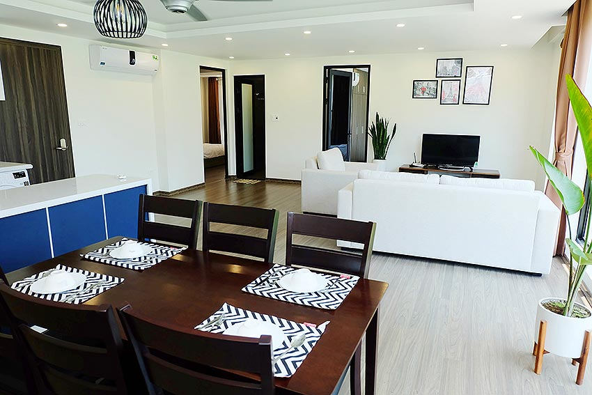 New Spacious 2 Bedroom Apartment in Dang Thai Mai str, Tay Ho Hanoi 5