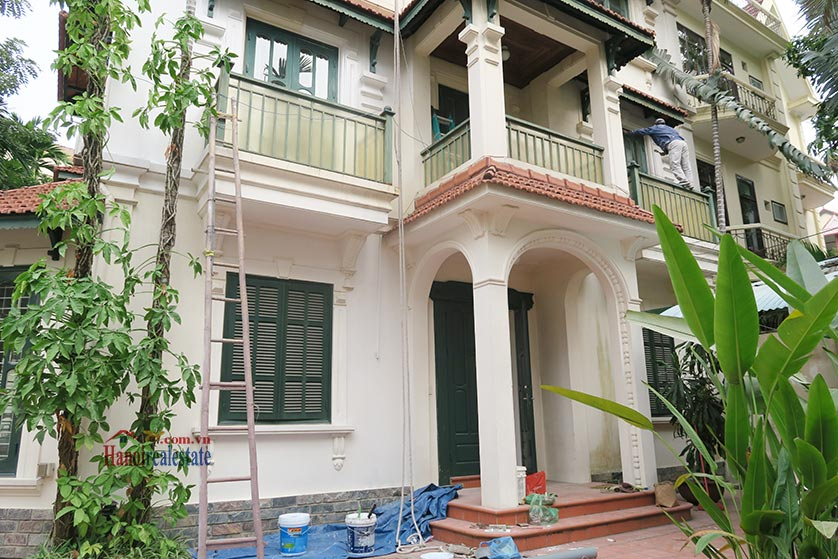 Newly renovated 05BRs villa at To Ngoc Van St with swimming pool 2