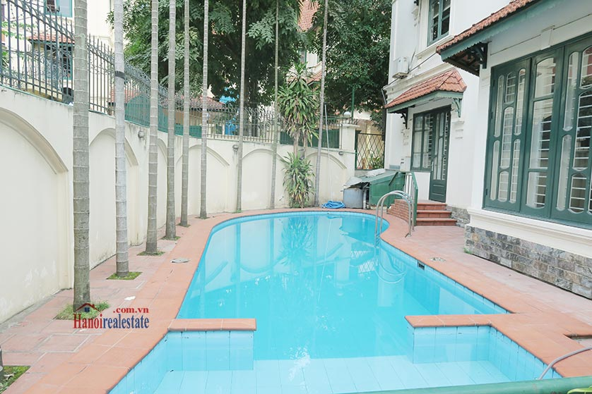 Newly renovated 05BRs villa at To Ngoc Van St with swimming pool 5