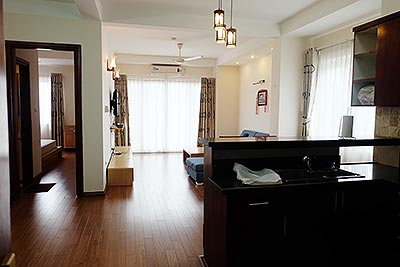 Nice 02BR apartment in Hoang Hoa Tham, Ba Dinh, close to Westlake