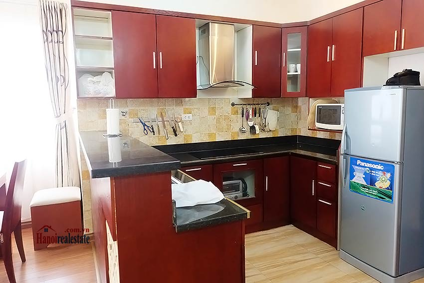 Nice 02BR apartment in Hoang Hoa Tham, Ba Dinh, close to Westlake 11