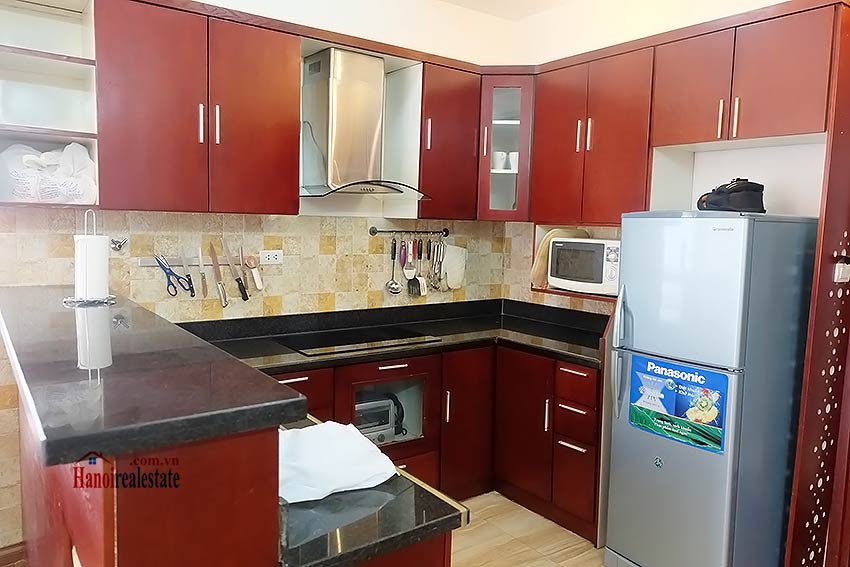 Nice 02BR apartment in Hoang Hoa Tham, Ba Dinh, close to Westlake 12
