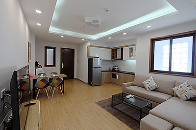 Nice apartment with 01BR in Yen Phu Village, quiet and clean