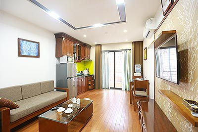 Nice balcony apartment at Linh Lang Street, Ba Dinh