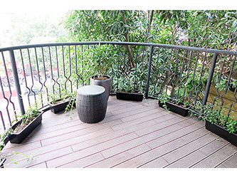 Nice balcony, Modern 3 bedroom apartment for rent in Hoan Kiem, Hanoi