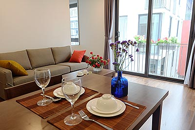 Nicely decorated apartment with 01 bed in Ba Dinh, Kim Ma street