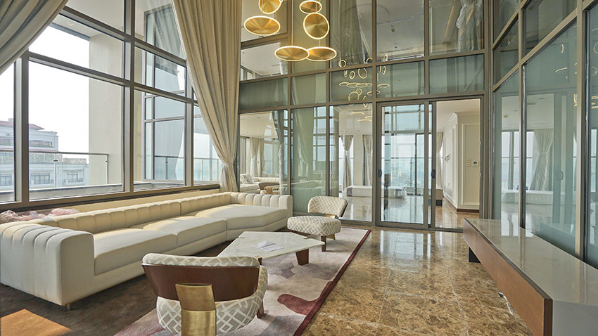 Oakwood Residence: Presidential luxurious 05BRs Duplex Penthouse 3