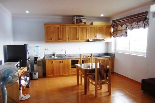 One bedroom modern apartment for rent in alley 523, Kim Ma treet, Ba Dinh