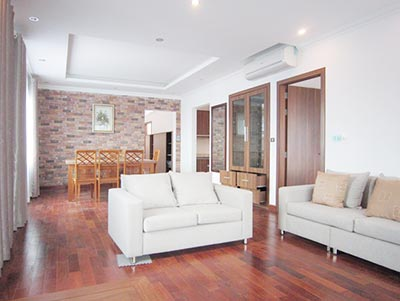 Open terrace, 03BRs serviced apartment to rent on To Ngoc Van