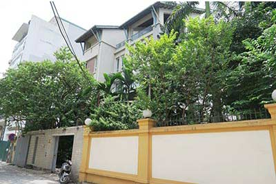 Open view, Modern Villa with Swimming Pool for rent in Tay Ho Dist Hanoi