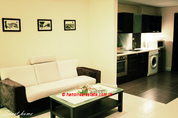 Pacific Place Hanoi | Modern one bedroom apartment for rental, Bright & Furnished 8