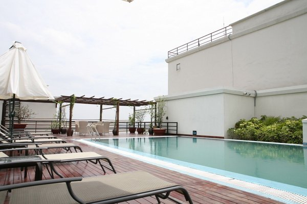 Pacific Place apartments for rent Hanoi, Rooftop Terrace