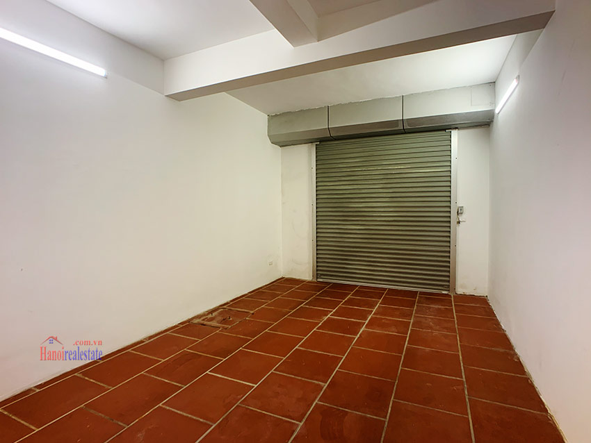 Partly furnished 05BRs house in T block Ciputra 1
