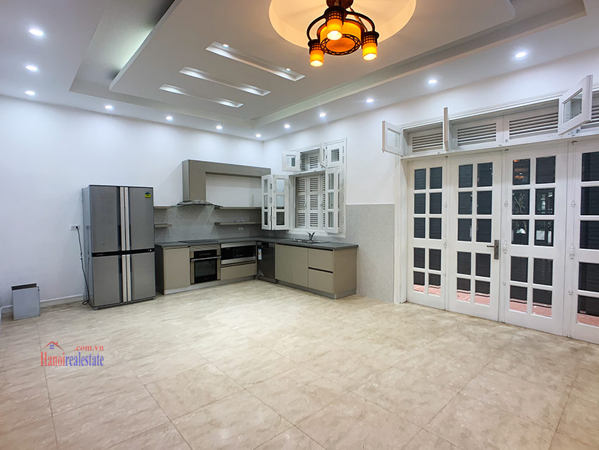 Partly furnished 05BRs house in T block Ciputra 4