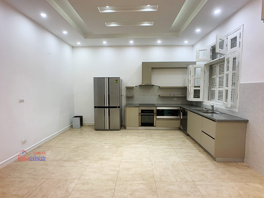 Partly furnished 05BRs house in T block Ciputra 5
