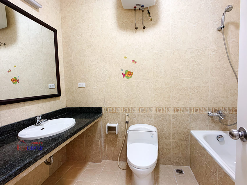 Partly furnished 05BRs house in T block Ciputra 8