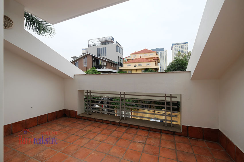 Partly furnished 4-bedroom house on Dang Thai Mai to rent 21