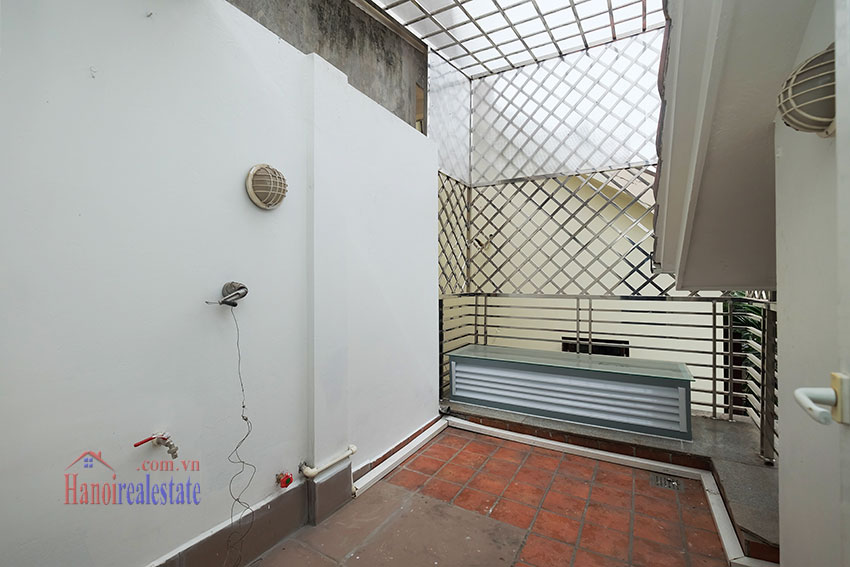 Partly furnished 4-bedroom house on Dang Thai Mai to rent 24