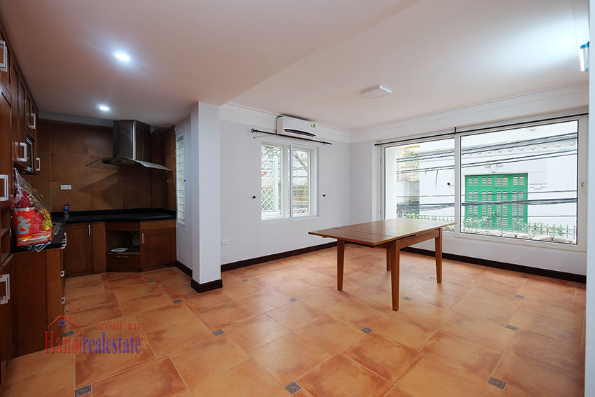 Partly furnished 4-bedroom house on Dang Thai Mai to rent 8